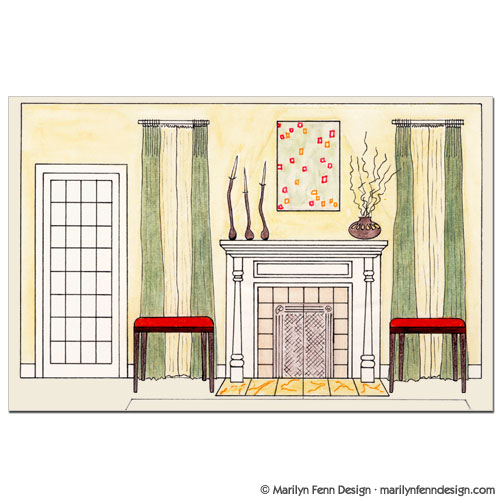Perfect Wall Elevation Drawing Interior Design 500 x 500 · 52 kB · jpeg
