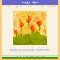 Marilyn Fenn Fine Art website