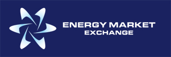 Energy Market Exchange Logo - Reverse