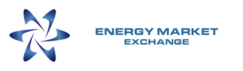 Energy Market Exchange Logo - White Background