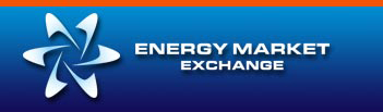 Energy Market Exchange Logo - 3D
