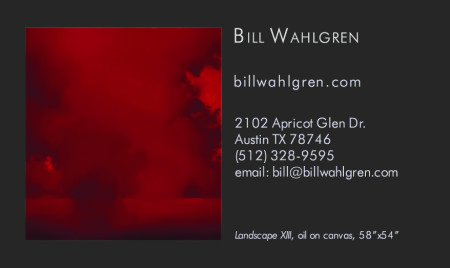 Bill Wahlgren Business Card