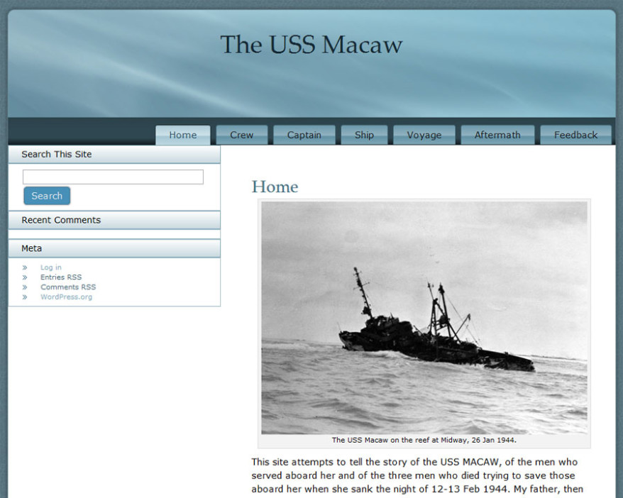 The USS Macaw