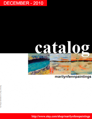 Etsy catalog - marilynfennpaintings