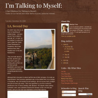 I m Talking to Myself blog