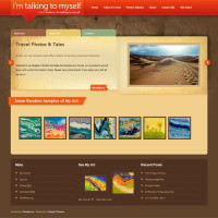 I'm Talking to Myself - another Elegant Themes theme