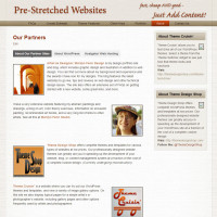 Pre-Stretched Websites - About - Our Partners
