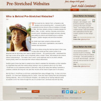 Pre-Stretched Websites - About - Who Is