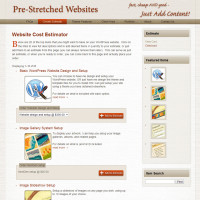 Pre-Stretched Websites - Cost Estimator