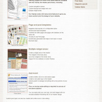 Pre-Stretched Websites - Theme Design Features