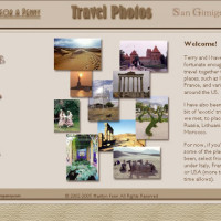 Travel photos website