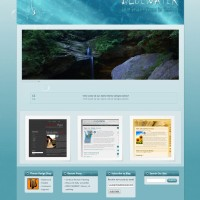 Blue Water WordPress Theme