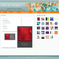 Marilyn Fenn Design v3 - Graphic design portfolio
