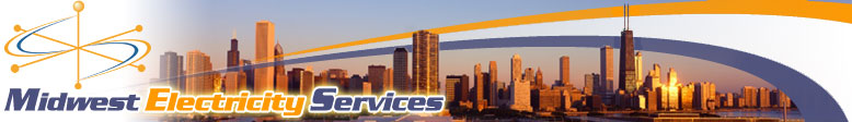 Midwest Electricity Services Logo Header