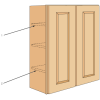 Decks and Walls - Installing Wall Cabinets