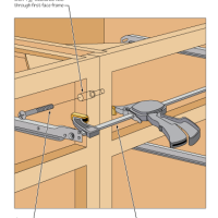 Connecting Adjoining Cabinets