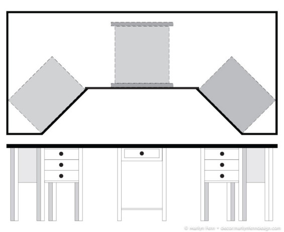 Desktop Design With Supporting Tables