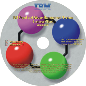 IBM FAMS CD label