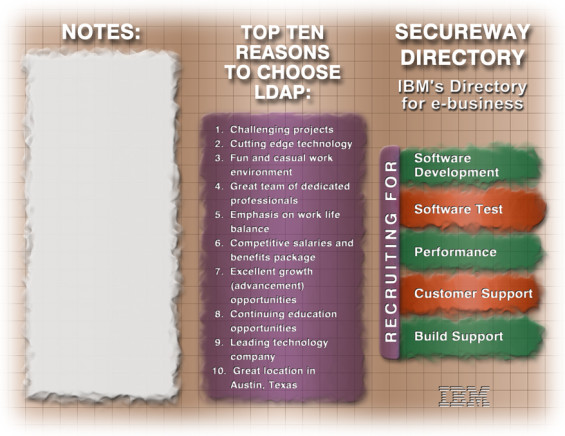 IBM SecureWay Brochure Outside