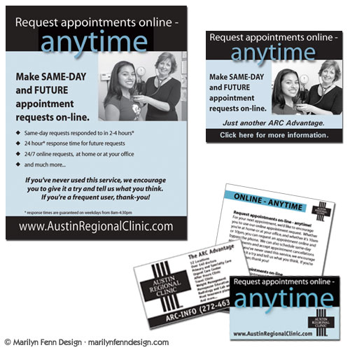 Online Anytime Ad Materials